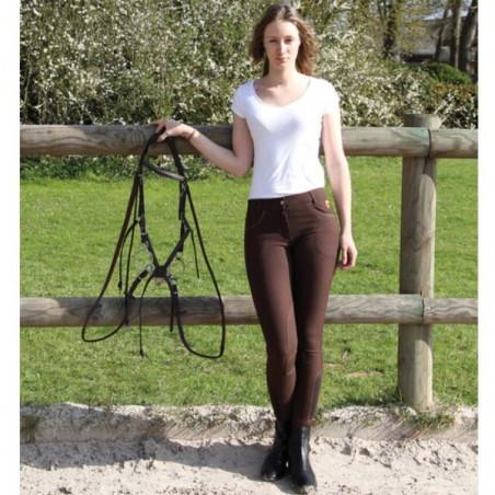 Pantalon d'équitation Femme Zippie Dame Performance