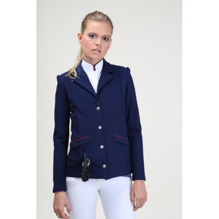 Veste de concours d'équitation Hortense Oscar et Gabrielle compatible airbag