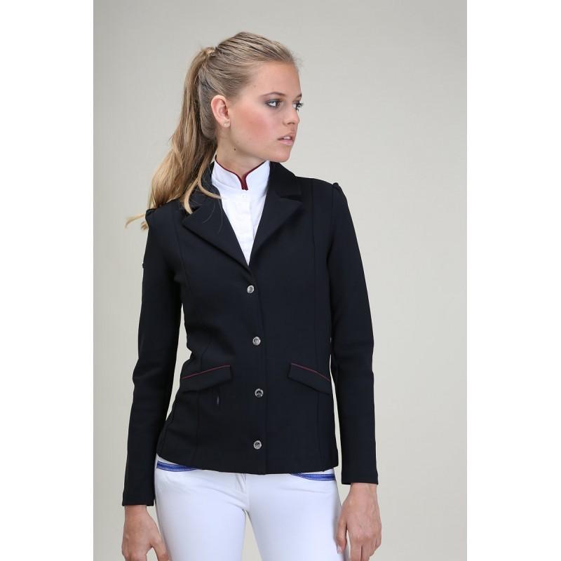 b6a8feec609 ... Veste de concours d équitation Hortense Oscar et Gabrielle compatible  airbag ...