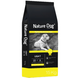 Croquettes chien Light 20/8 Nature Dog