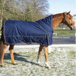 Couverture cheval Abyss Highneck 600 D Performance