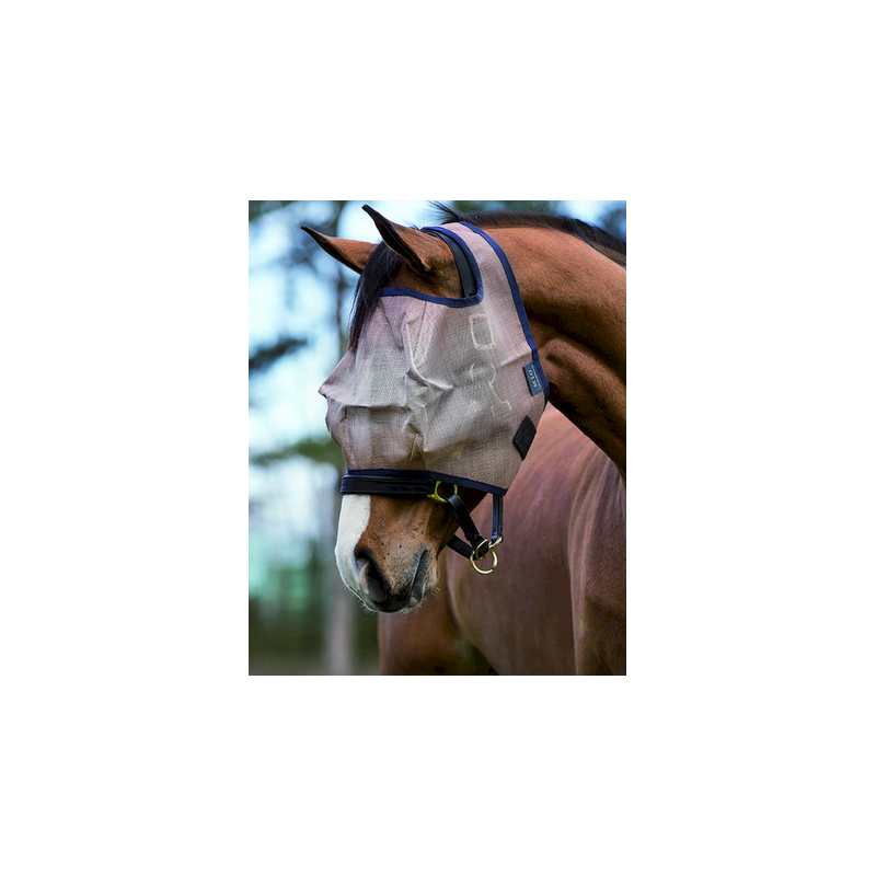 HKM Fly Bonnet Fly Veil pour chevaux Fly Protection