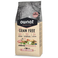Croquettes Just Grain Free Adult Chicken chat Ownat 3 kg