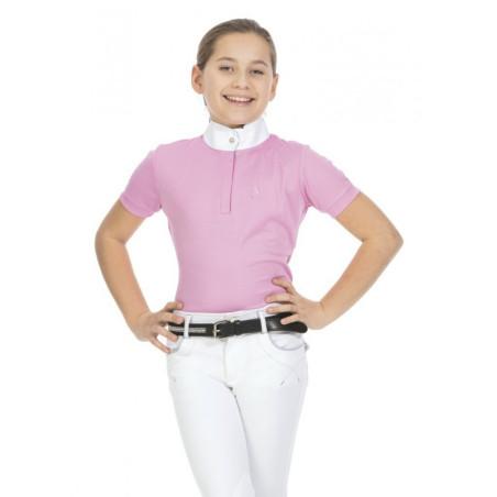 """Polo de concours Équithème """"Mesh"""" Femme"""