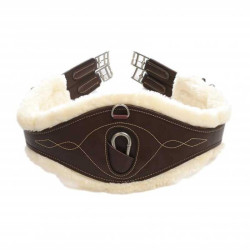 Sangle anatomique cuir et mouton Kentucky
