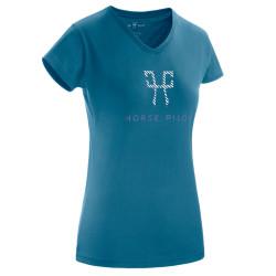 T-shirt Team Shirt Horse Pilot Femme