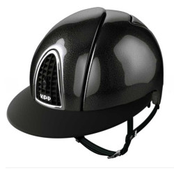 Casque cromo shine Kep visiere large