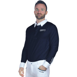 Polo Cartago manches longues homme Flags&Cup